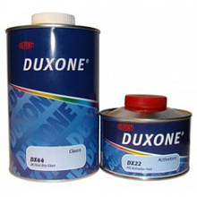 Быстросохнущий двухкомпонентный акриловый лак DX-44, Duxone