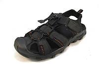 Сандалии мужские RAZOR кожаные черные (р.40,41,42,43,44,45)