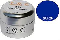 Гели для лепки, 3D гель для лепки YRE SG-20, все для дизайна ногтей