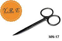Ножницы маникюрные для кутикулы YRE MN-17, маникюрные принадлежности