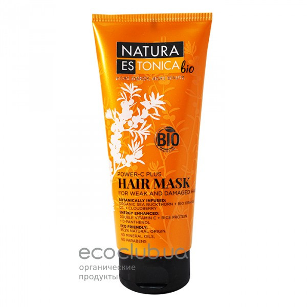 Маска для волос Сила витамина С Natura Estonica 200мл