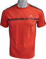 Мужская футболка Adidas х/б, футболки спорт
