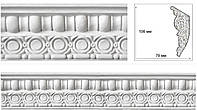 Карниз с орнаментом из гипса | Лепнина, эко-декор