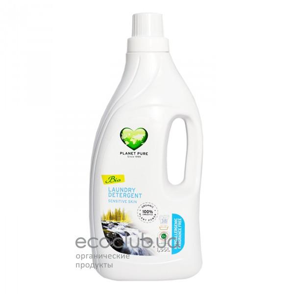 Средство для стирки органическое Sensitive Skin Planet Pure 1,55л