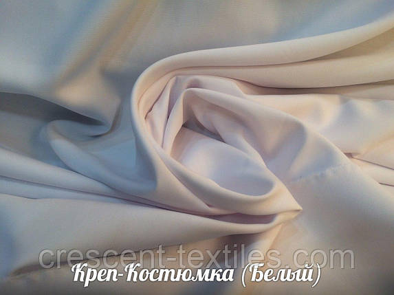 Креп-Костюмка (Белый), фото 2