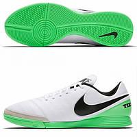 Футбольные бутсы для зала Nike Tiempo Genio II Leather IC 819215-103