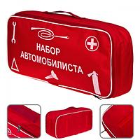 Сумка техпомощи NEW 1 Vitol красная с логотипом