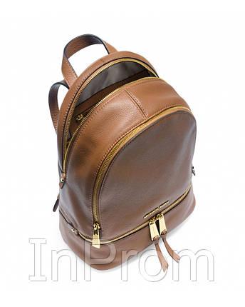 Рюкзак Michael Kors Rhea Small Brown, фото 2
