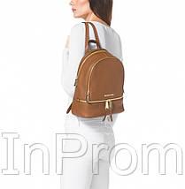 Рюкзак Michael Kors Rhea Small Brown, фото 3