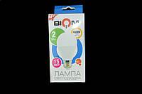 Светодиодная лампа Biom BT-516 A65 15W E27 4500К матова, фото 1