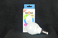 Светодиодная лампа Biom BT-544 G45 4W E14 4500К матовая, фото 1