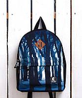 Рюкзак «Ястребь» Синий лес, Принт №15