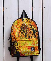 Рюкзак «Ястребь» Осенний лист, Принт №13