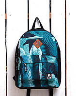 Рюкзак «Ястребь» Зеленый лист, Принт №19