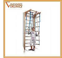 Детская деревянная шведская стенка сосна Комби 2 - 240, фото 1