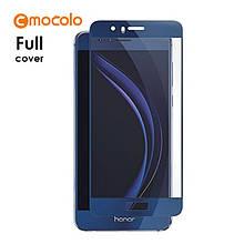 Защитное стекло Mocolo Full сover для Huawei Honor 8 Pro синий