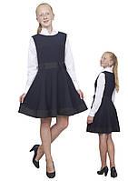 Сарафан школьный для девочки М-1041 рост 128-158, фото 1
