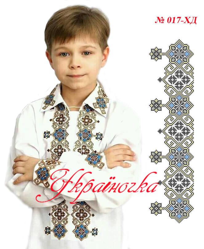 Заготовка вишиванки для хлопчика