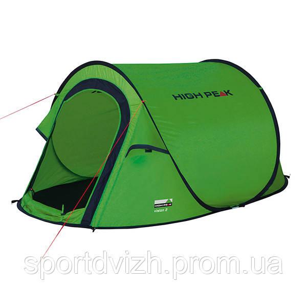 Палатка High Peak Vision 2 (Green) - SportCity - интернет-магазин товаров для спорта, туризма и отдыха. в Киеве