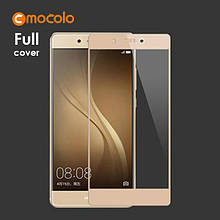 Защитное стекло Mocolo Full сover для Huawei Enjoy 6S золотистый