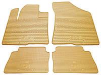 Резиновые коврики для Hyundai Santa Fe II (CM) 2006-2012 (STINGRAY)