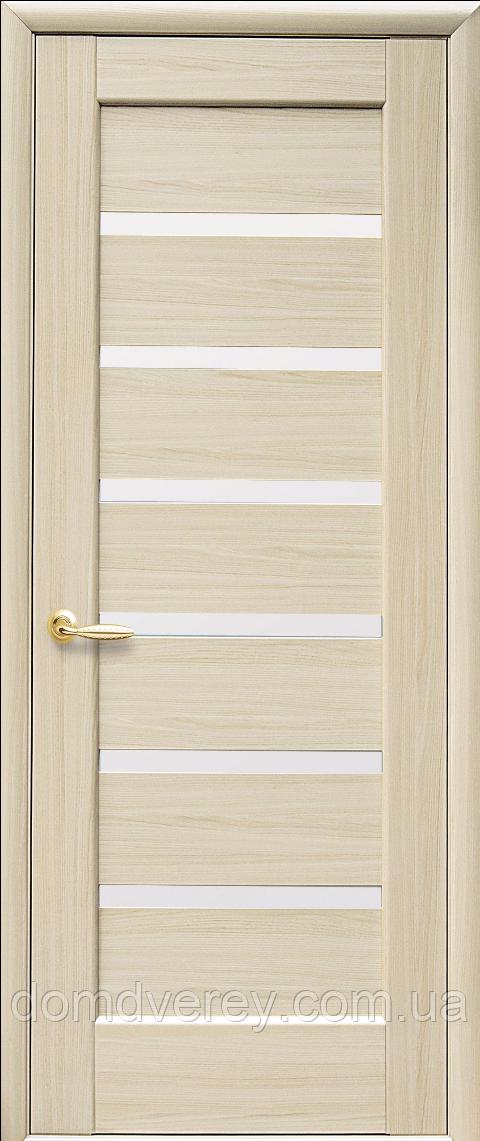 Двери межкомнатные Новый Стиль, Ностра, модель Линнея, со стеклом сатин