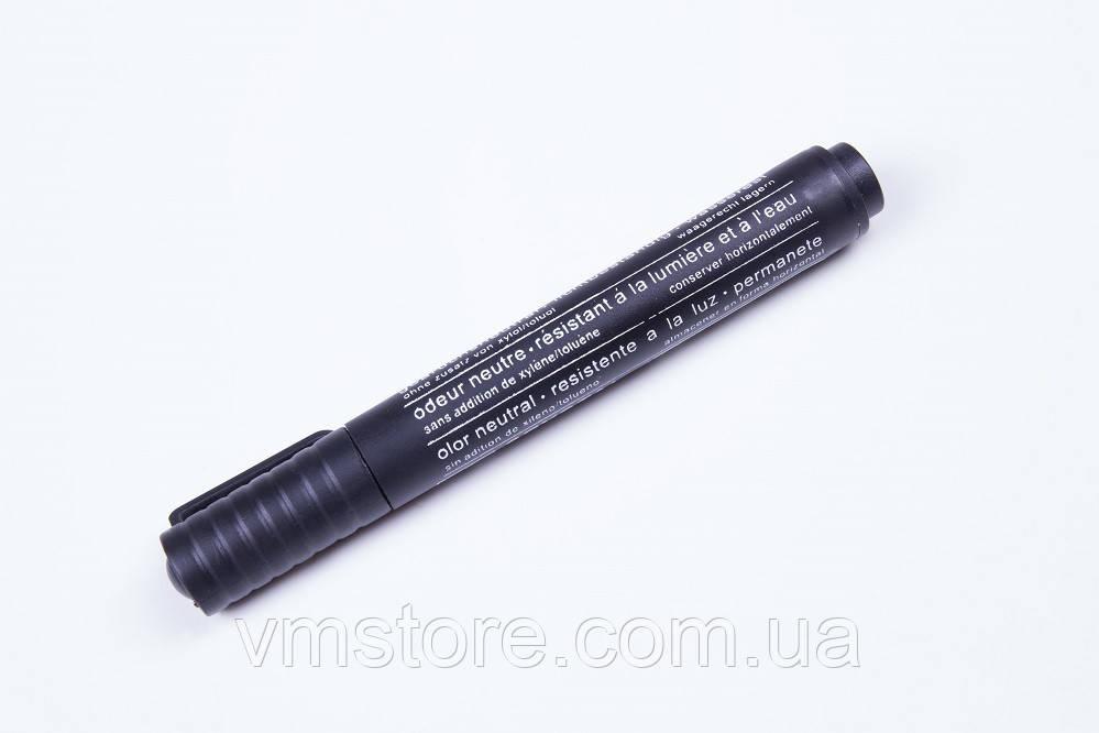 Маркеры перманентные Diamond srystal толстые, черный цвет.