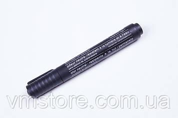 Маркери перманентні Diamond srystal товсті, чорний колір.