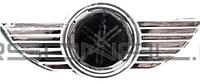 Наклейка   шильдик   YAMAHA   (9.5х4см, хром