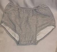 Панталоны женские байка серые 60-62 р.