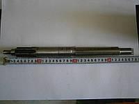 Вал КПП первичный (с валом отбора мощ.) 370мм мототрактор