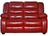 """Новый диван в коже """"Manhattan"""" (Манхетен) Двухместный (153 см), Американская раскладушка, ткань"""