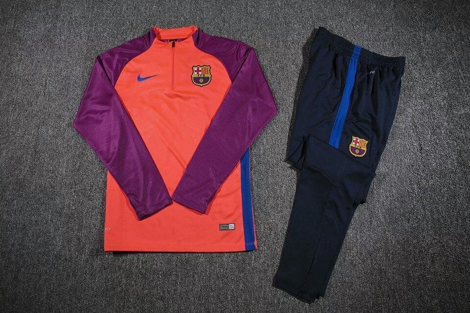 Костюм Барселона фиолетовый рукав (розовая)