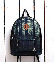 Рюкзак «Ястребь» Темный лес, Принт №9