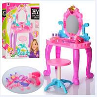 Трюмо Beauty. Детский Туалетный столик, стульчик