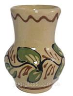 Ваза 90 мм ''Сувенірна''глиняна (глазурована) в асортименті