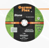"Круг для резки камня выпуклый Т42 ""Germaflex"".  Диаметры: 115, 125, 150, 180, 230 мм."