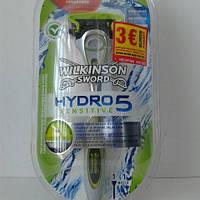 Станок (Schick) Wilkinson Sword Hidro 5 Sensetiv  (ручка+1 кассета)