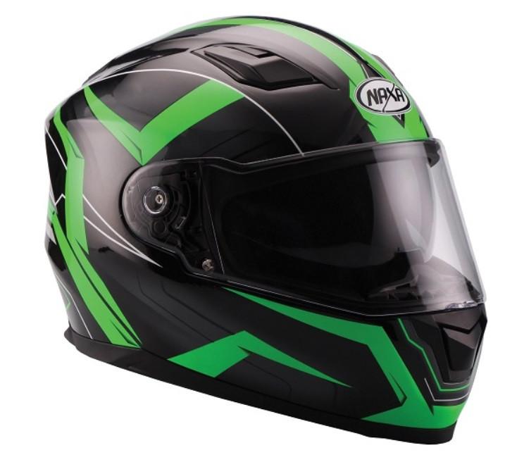 Мотоциклетный шлем NAXA F24/E FLUO r.L+BLENDA