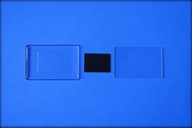 Акрилові заготовки прямокутник 52х78мм