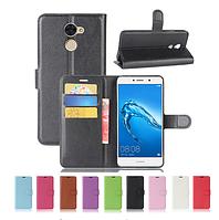 Кожаный чехол книжка Lichee для Huawei Enjoy 7 Plus (9 цветов)