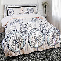 Комплект постельного белья теп бязь из хлопка 954 Пирелиясемейный