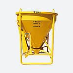 Бадья для раствора SPEKTRUM ББМ-1,0 на 1 м3, вес 188 кг, фото 2