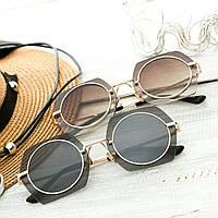 Женские стильные очки Hend Made черные, коричневые
