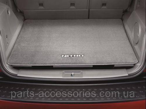 Dodge Nitro 2007-11 килимок велюровий в багажник темно-сірий Новий Оригінал