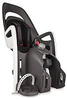 Велокресло детское HAMAX Caress на багажник серое/чёрное