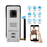 IP видеодомофон WIFI металлический для Iphone/Аndroid KKMOON S1038