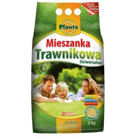 Газонна трава Універсальна суміш Planta 2 кг