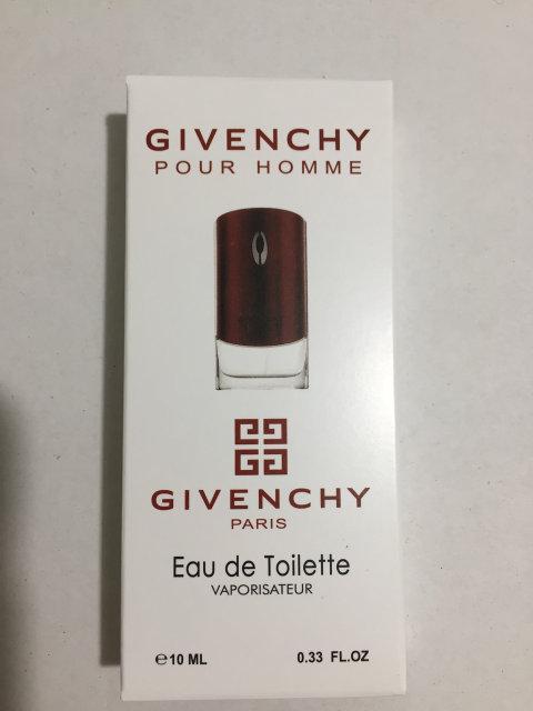Мужская мини парфюмерия Givenchy pour Homme 10 ml (реплика)