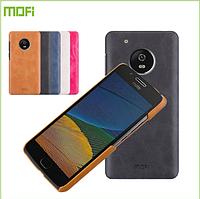 Кожаный чехол накладка MOFI для Motorola Moto G5 Plus (5 цветов)